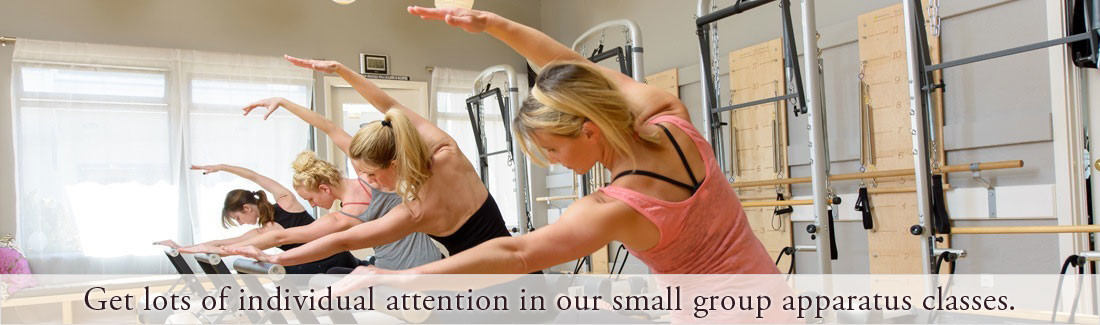 Pilates apparatus class in Santa Cruz