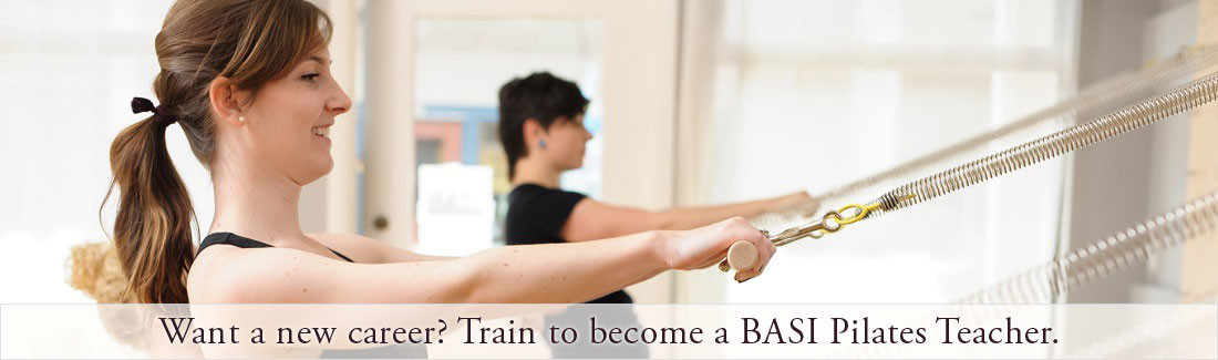 Pilates teacher training in Santa Cruz