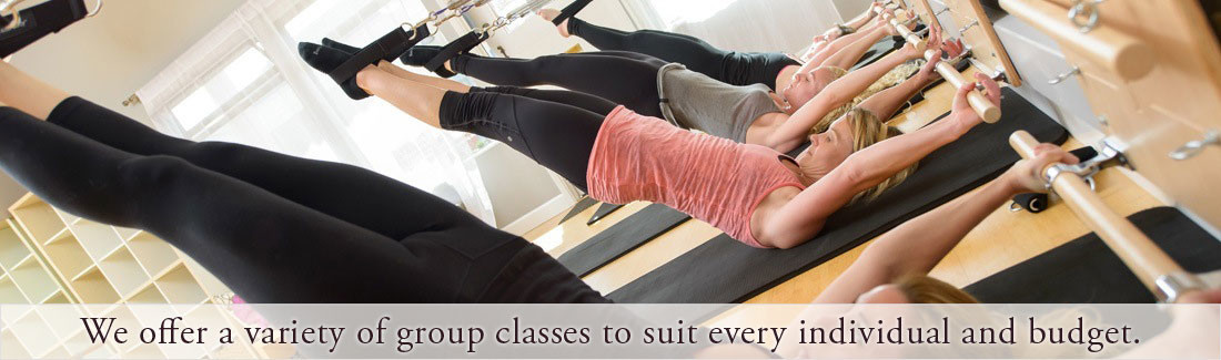Santa Cruz group pilates classes