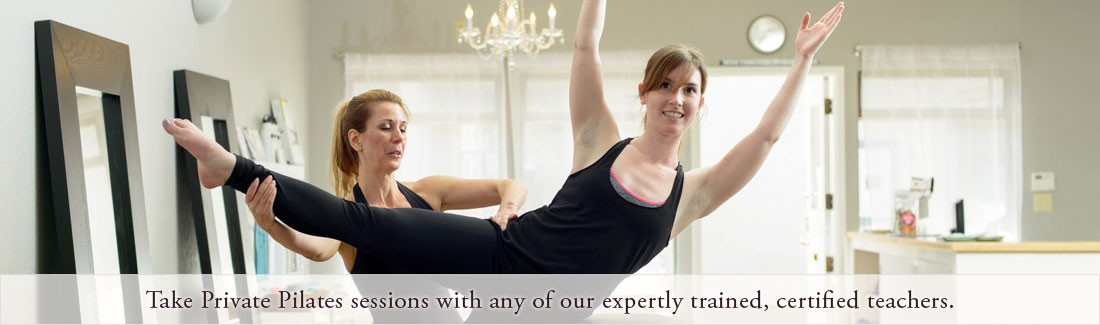 Private pilates lessons in Santa Cruz