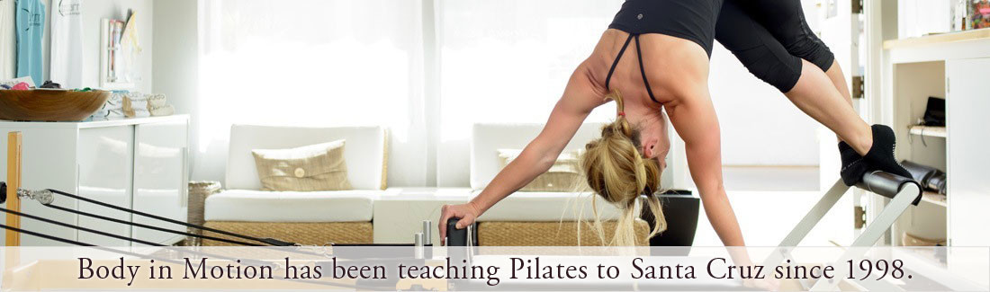 Santa Cruz Pilates Studio Since 1998