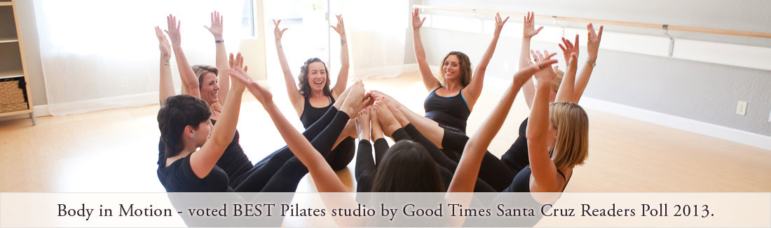 voted best pilates studio in santa cruz